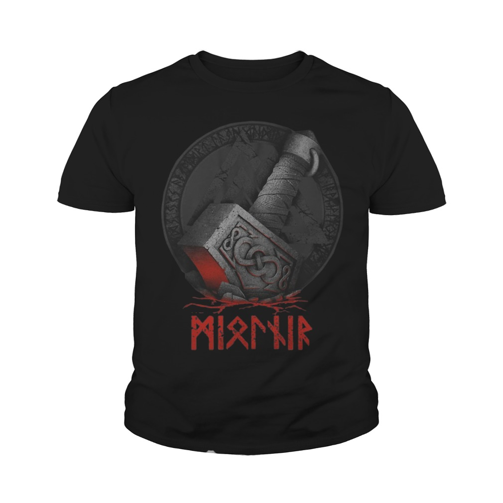 Raven's Mjolnir Viking Youth Shirt