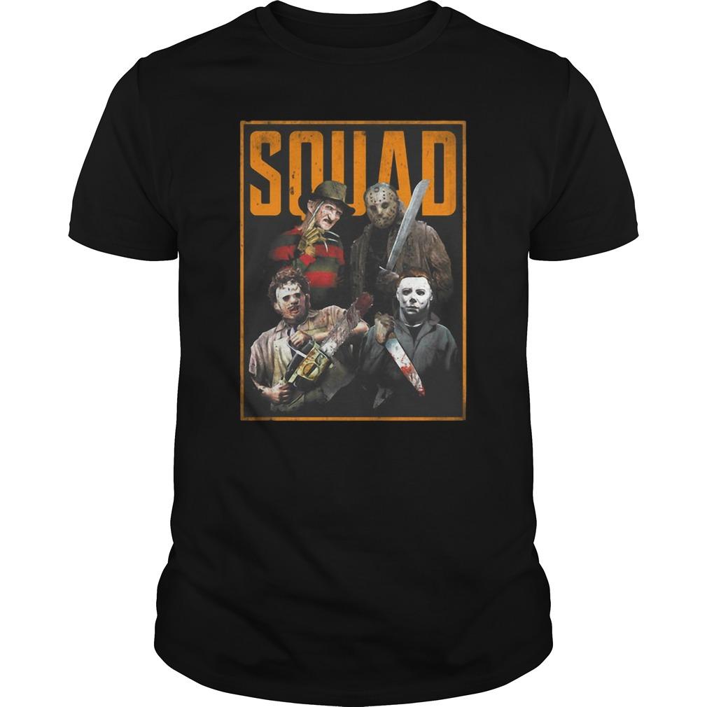 Squad Massacre Machine Horror Guys Shirt