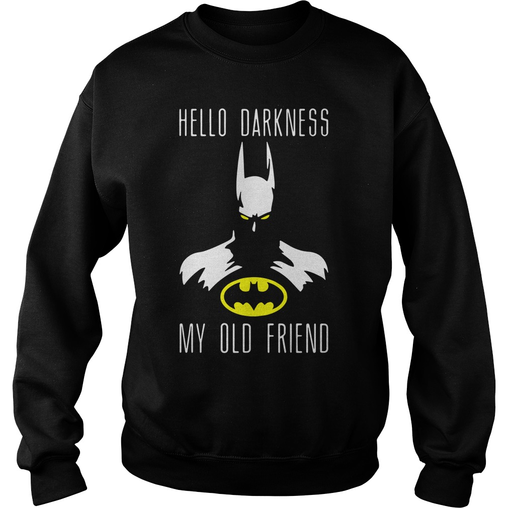 Batman Hello Darkness My Old Friend Sweater