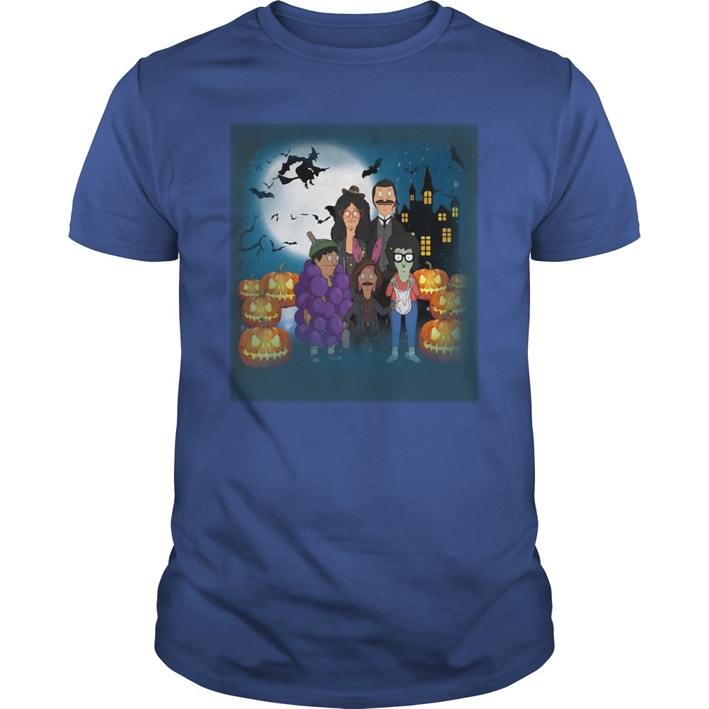Halloween Behind Bob's Burgers Guys Shirt