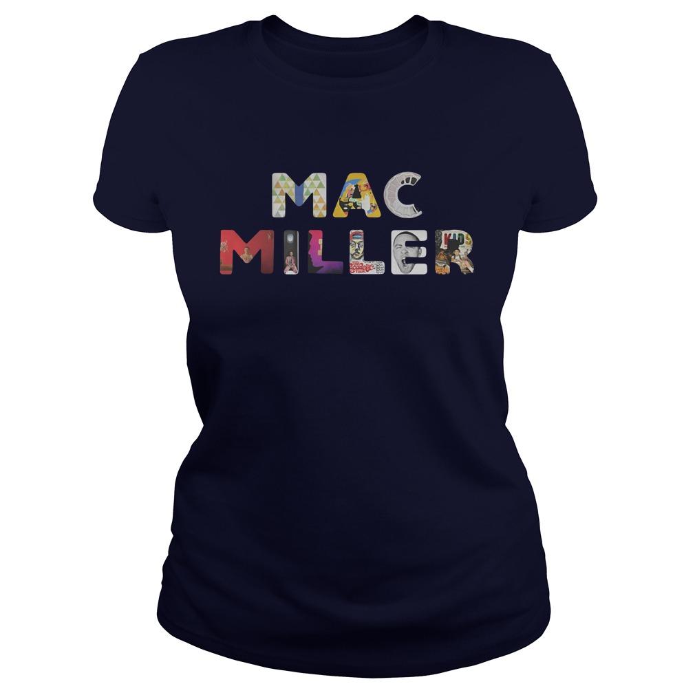 Keep Your Memories Alive Mac Miller Ladies Shirt