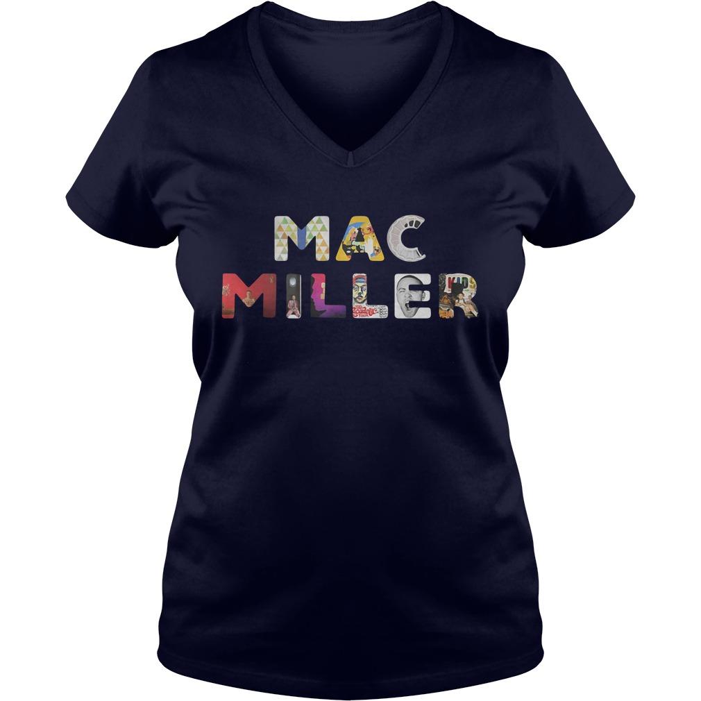 Keep Your Memories Alive Mac Miller Ladies v neck
