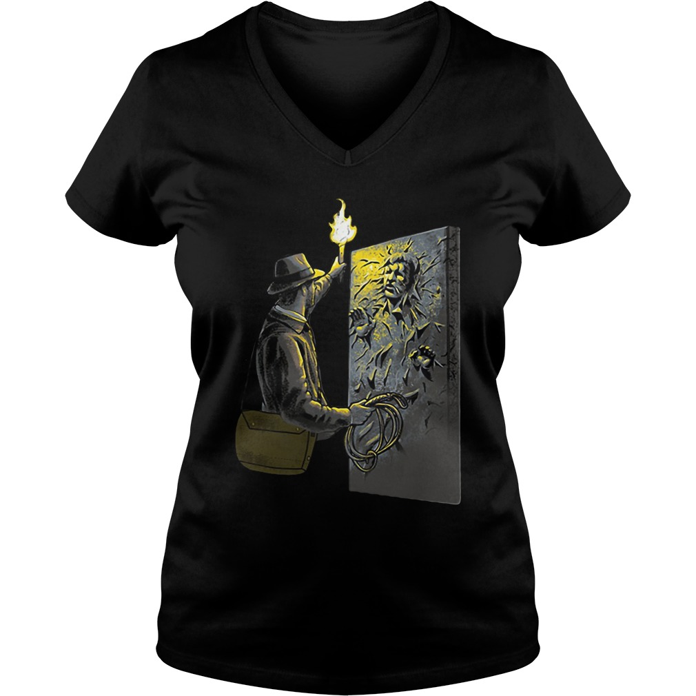 Official Archaeologist Ladies v neck