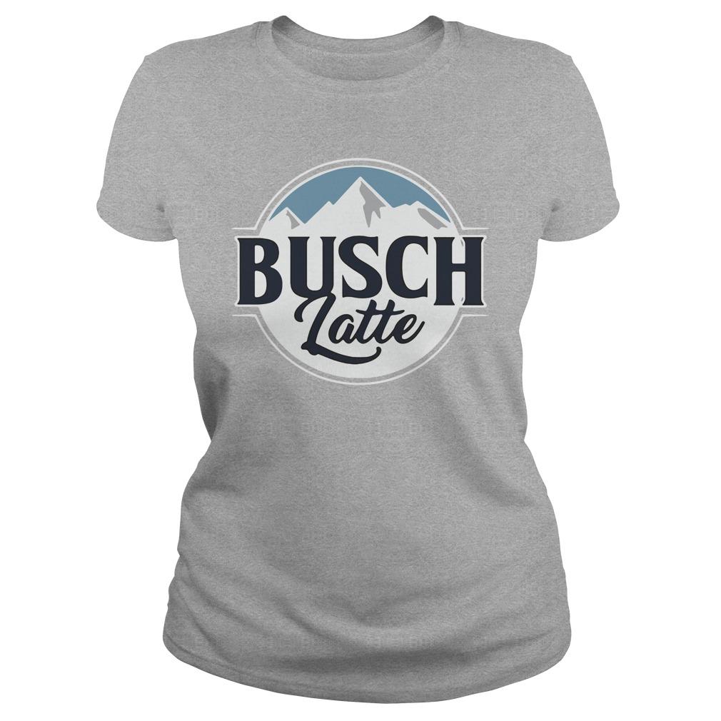 Official Busch Latte Busch Light Ladies Shirt