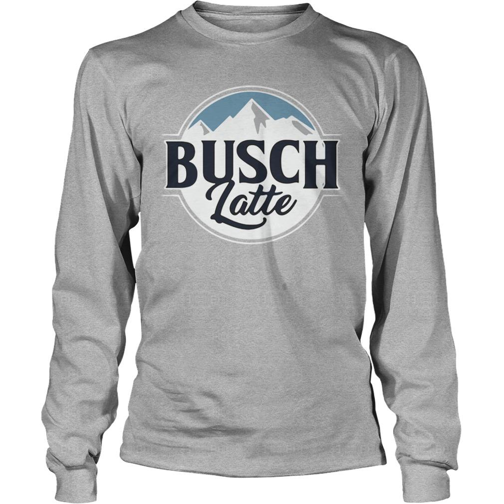 Official Busch Latte Busch Light Longsleeve Shirt