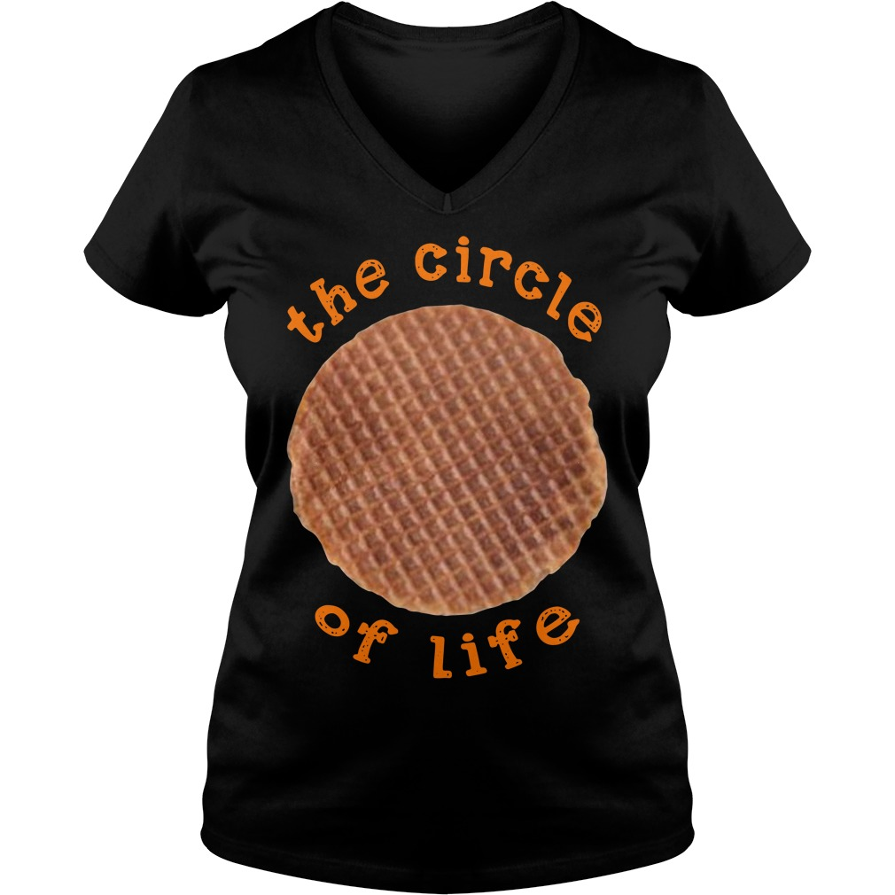 Official The Circle Of Life Ladies v neck