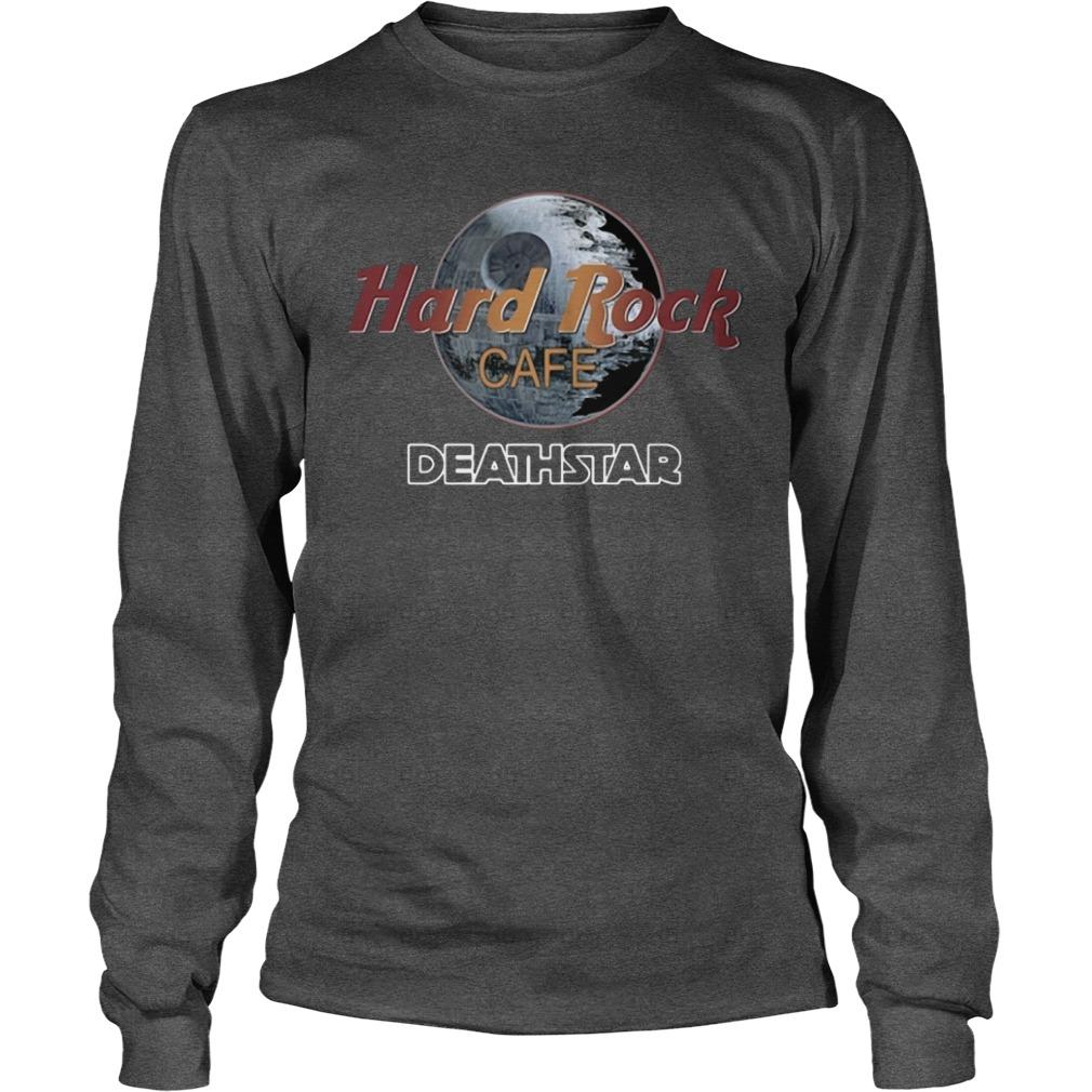 Official Death Star Hard Rock Cafe Longsleeve Shirt