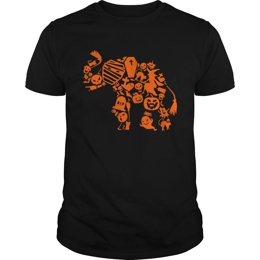 Official Elephant Halloween Guys Shirt