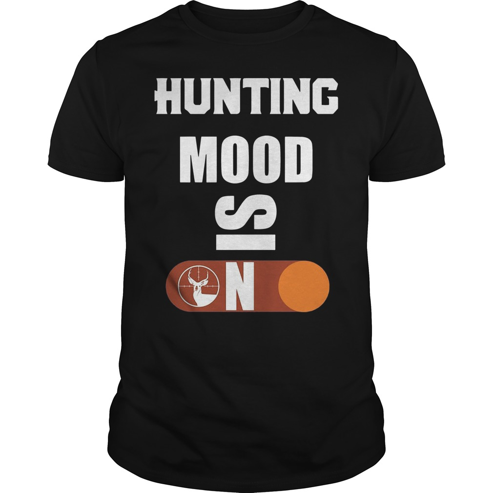 Official Hunting Mood Skin Guys Shirt