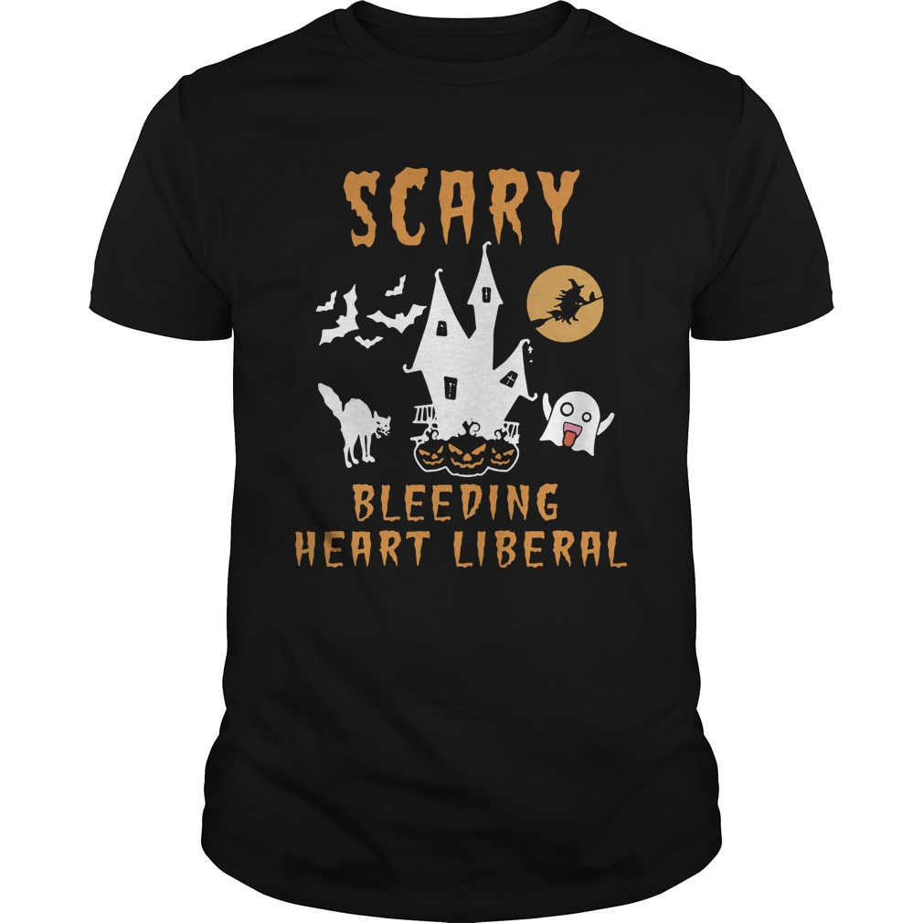 Scary Bleeding Heart Liberal Guys Shirt