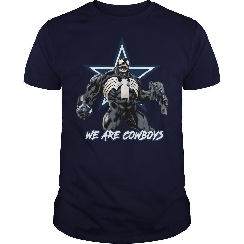 Official We are cowboys Venom shirt