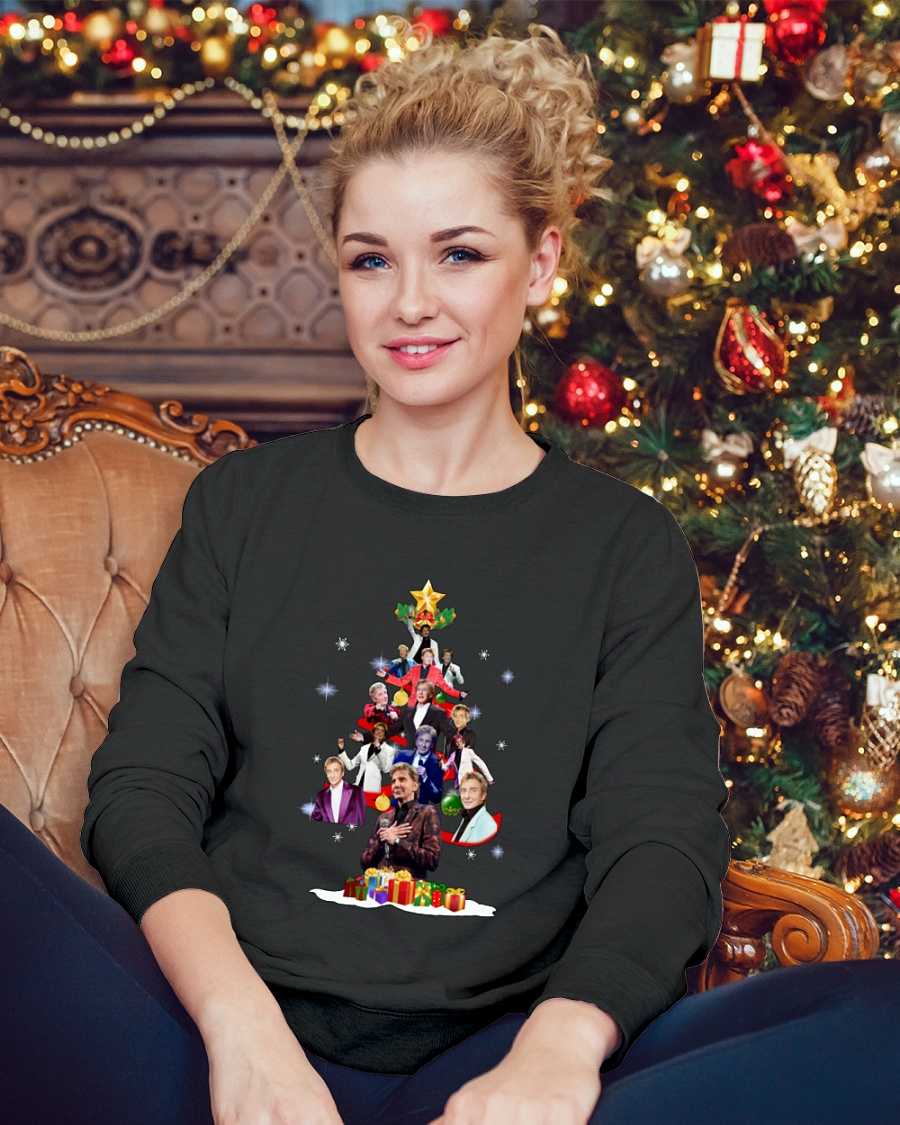 Barry Manilow Christmas Tree sweater
