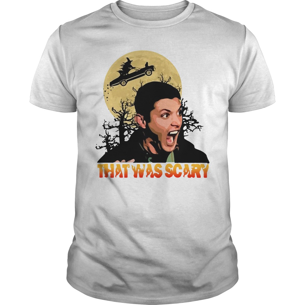 Cool Supernatural That Was Scary Dean Winchester Halloween Guys Shirt