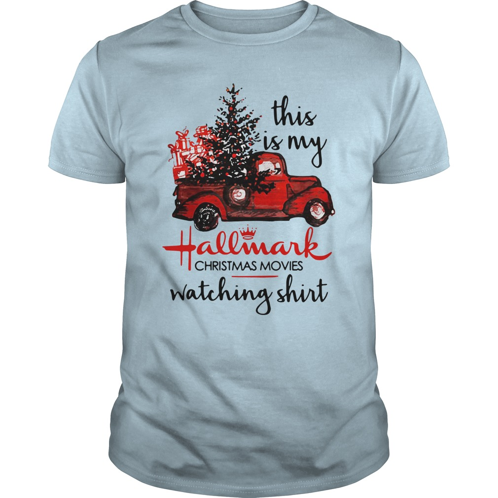 This Is My Hallmark Christmas Movies Watching Guys Shirt