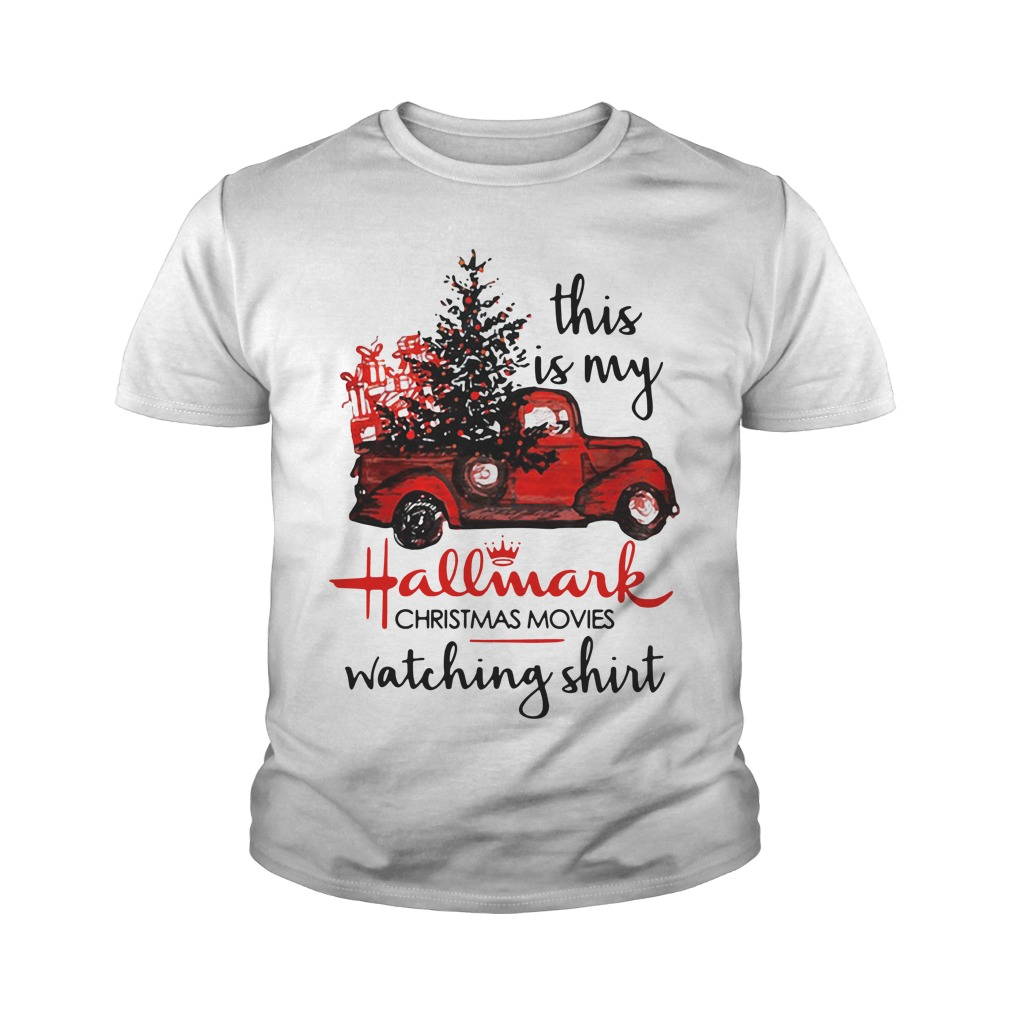 This Is My Hallmark Christmas Movies Watching Youth Shirt