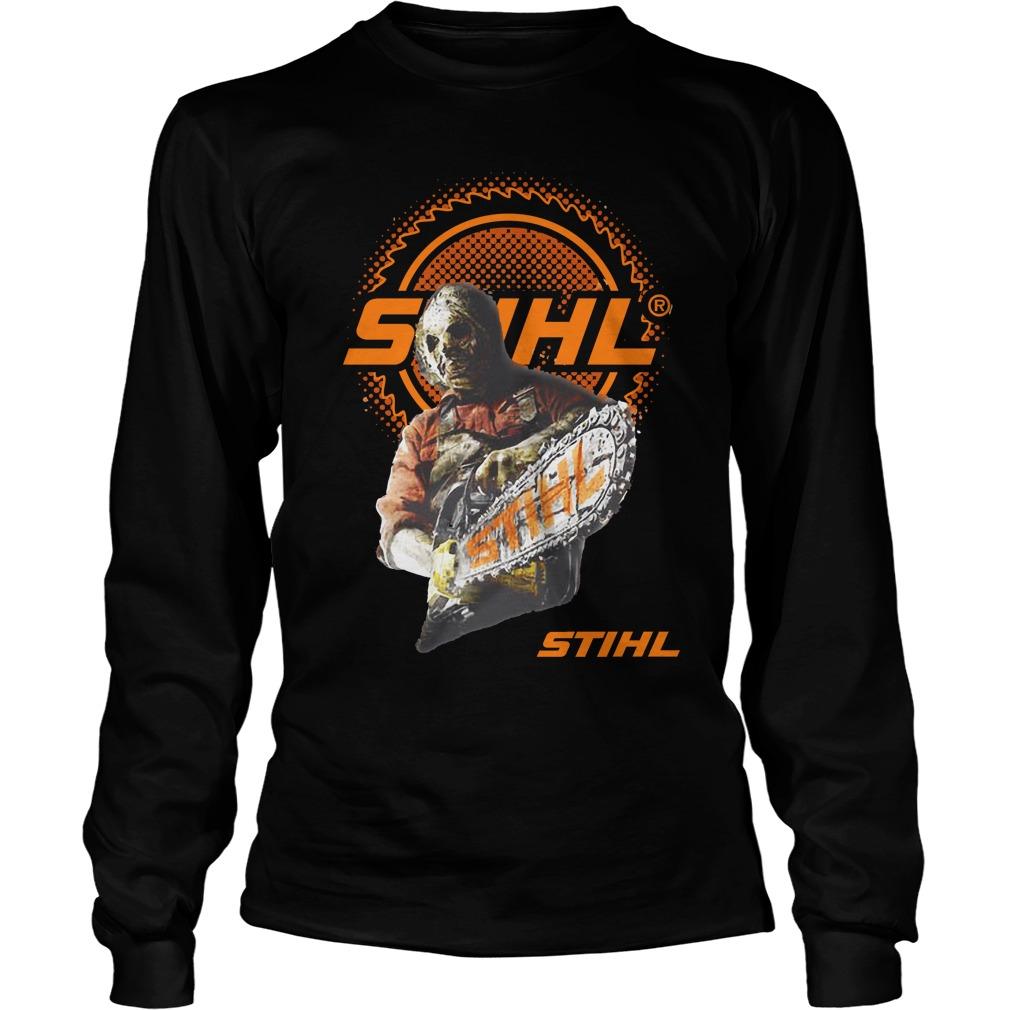 Jason Voorhees team STIHL Longsleeve shirt