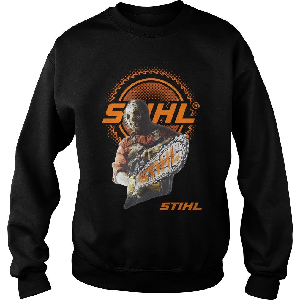 Jason Voorhees team STIHL Sweater