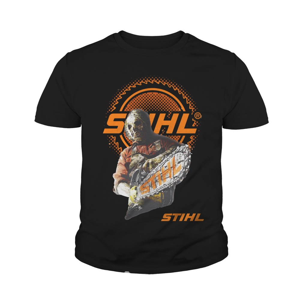 Jason Voorhees team STIHL Youth shirt