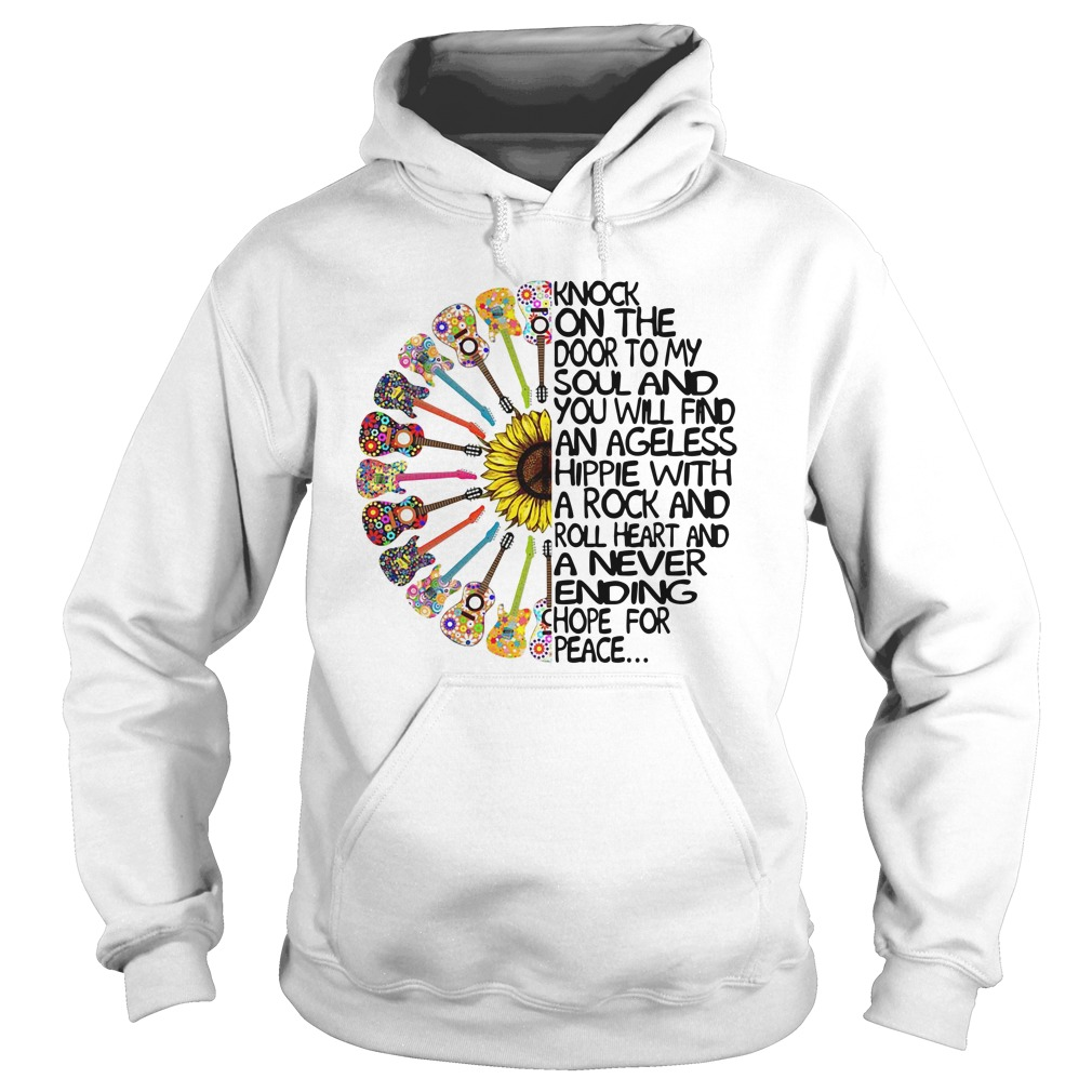 Knock On The Door To My Soul And You Will Find An Ageless Hippie Hoodie