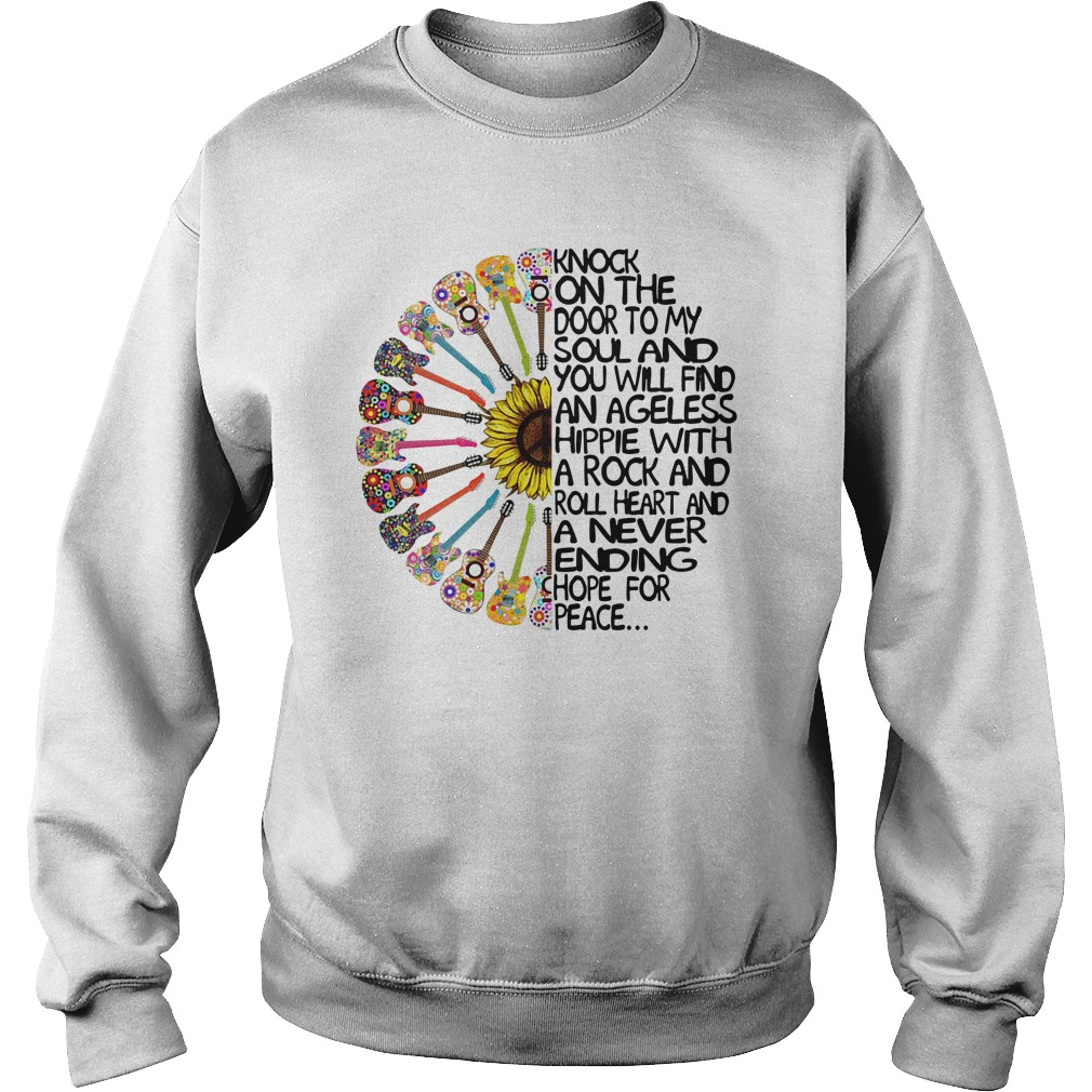 Knock On The Door To My Soul And You Will Find An Ageless Hippie Sweater