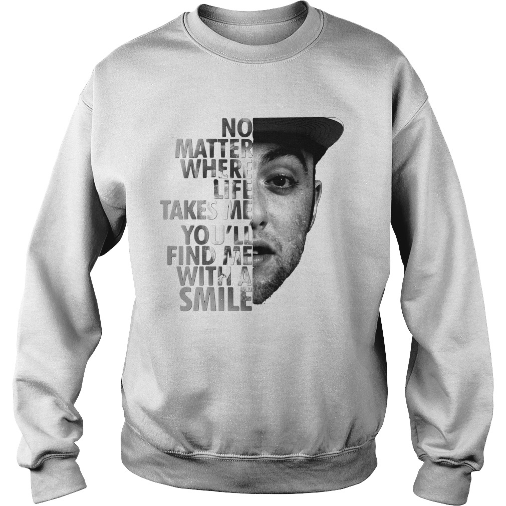 No Matter Where Life Takes Me You'll' Find Me With A Smile Sweater