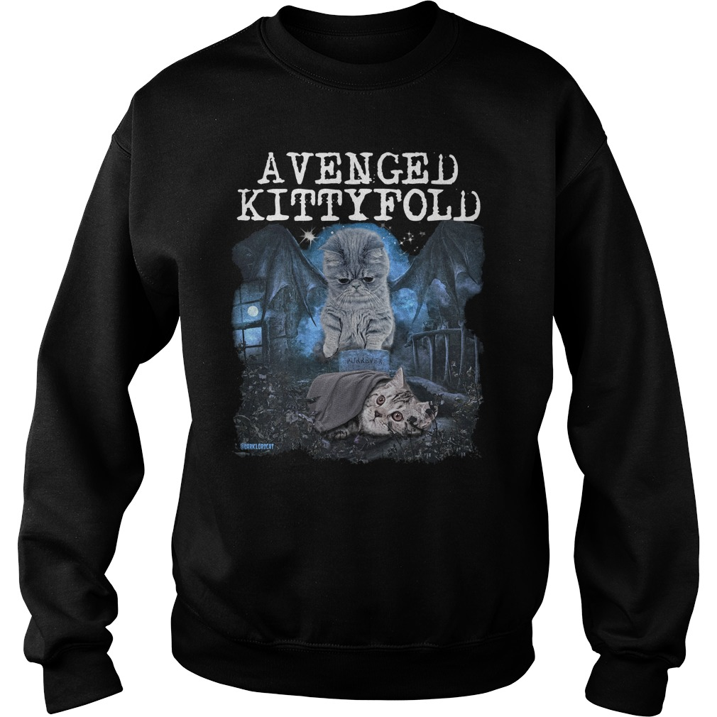 Official Avenged kitty fold sweater