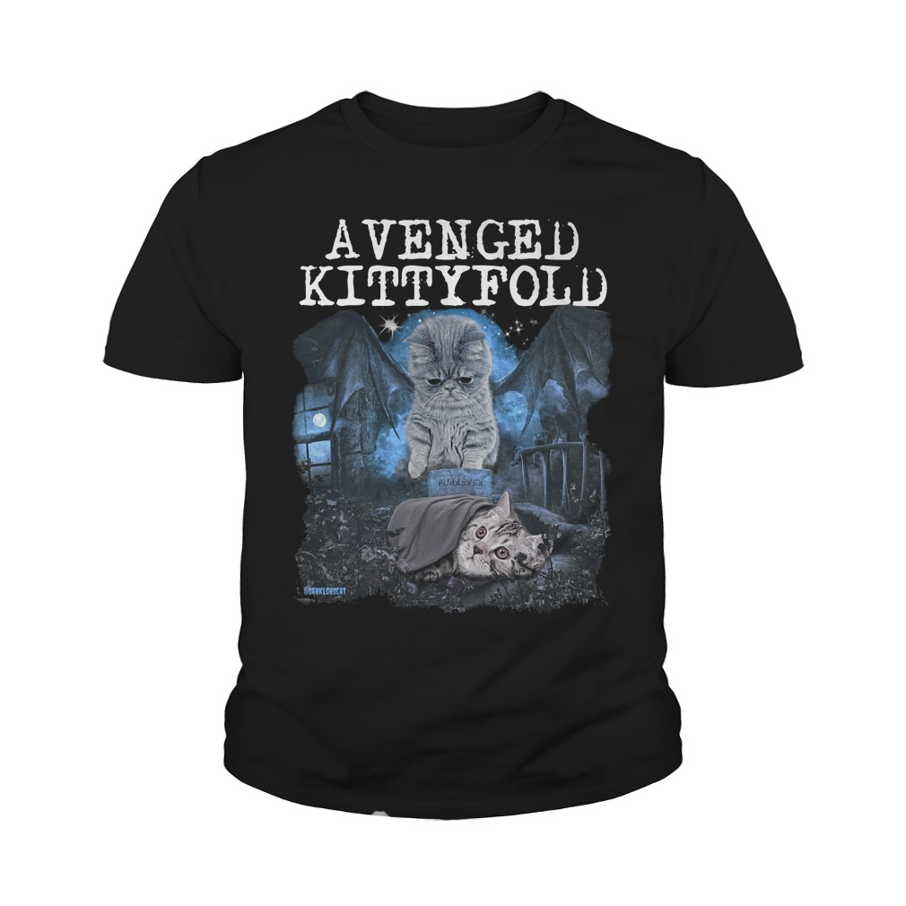 Official Avenged kitty fold youth shirt
