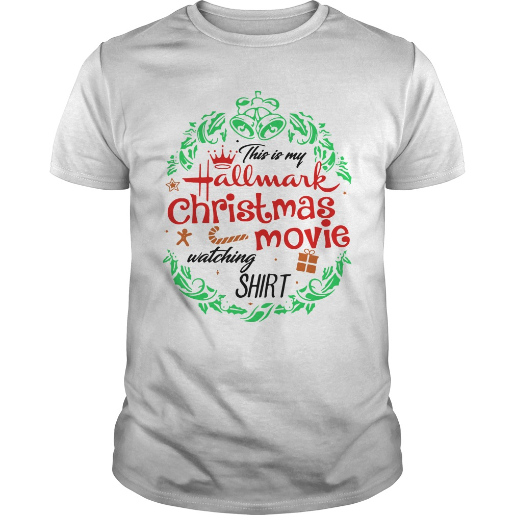 Official This Is My Hallmark Christmas Movie Watching Guys Shirt