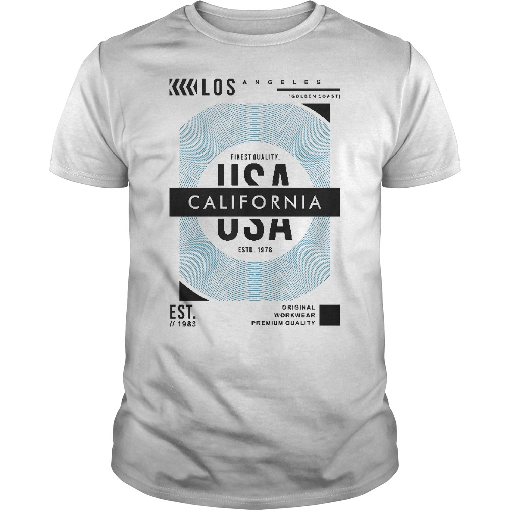 Official USA California Guys shirt