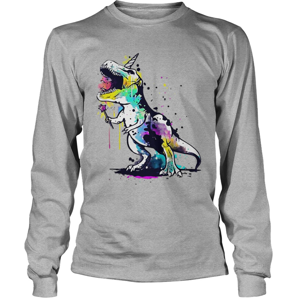 Rexcorn star magic wand Longsleeve shirt