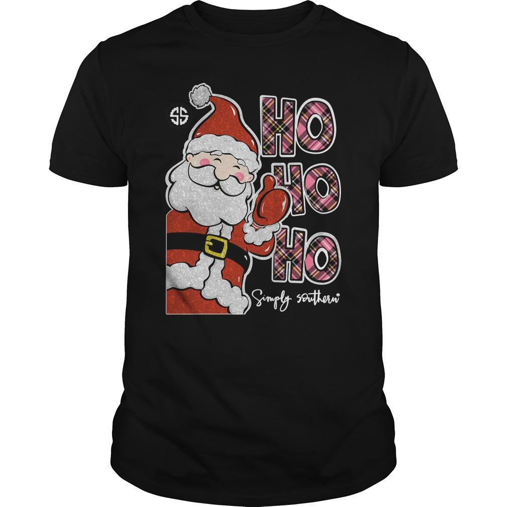 Simply Southern Ho Ho Ho Guys Shirt