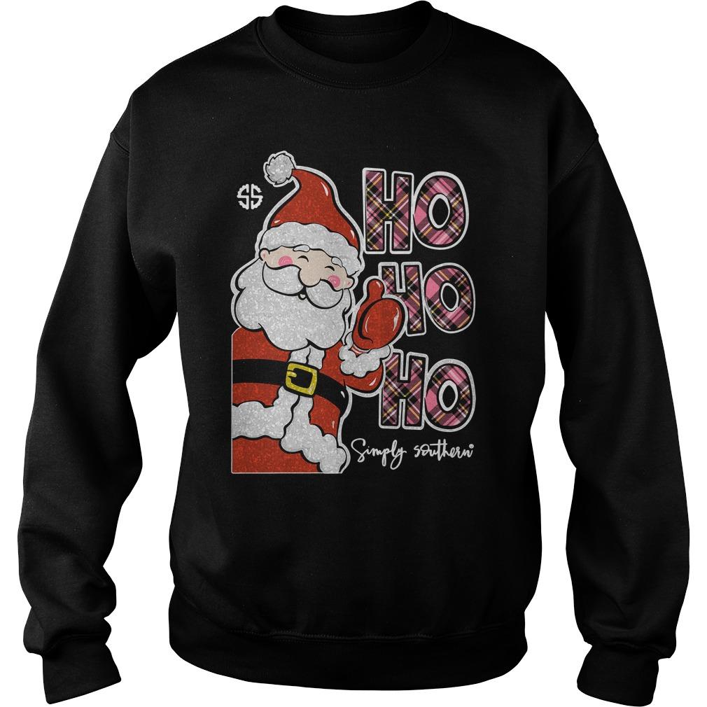 Simply Southern Ho Ho Ho Sweater
