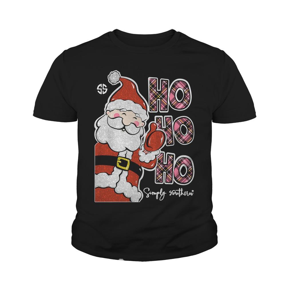 Simply Southern Ho Ho Ho Youth Shirt