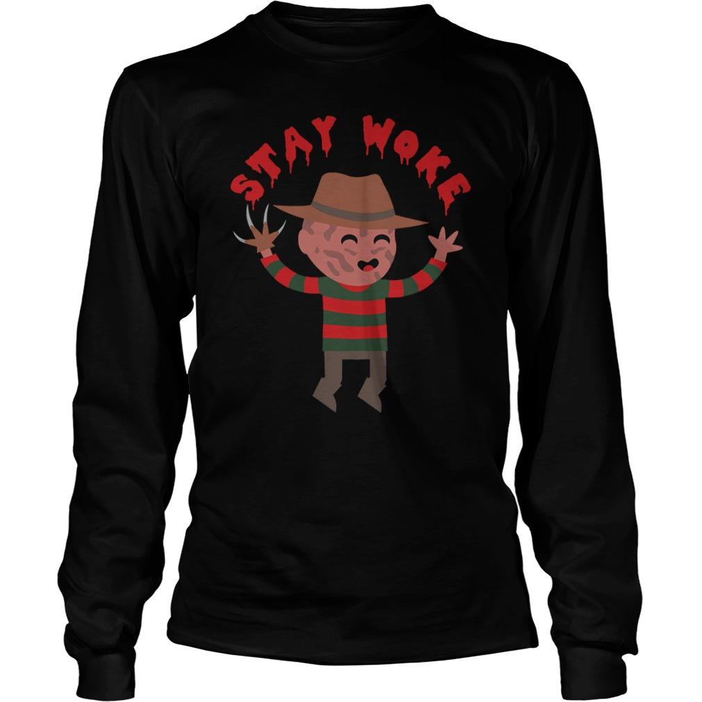 Stay Woke Halloween Longsleeve Shirt