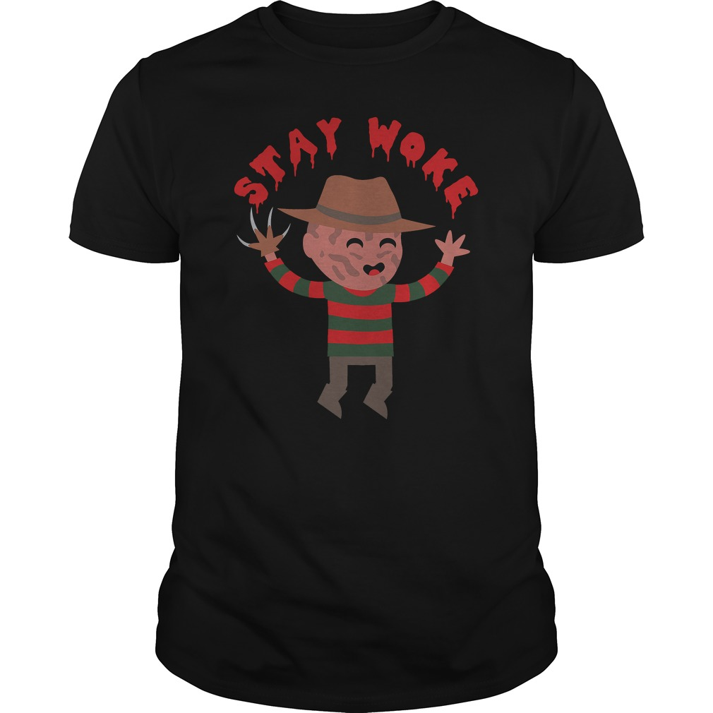 Stay Woke Halloween Guys Shirt