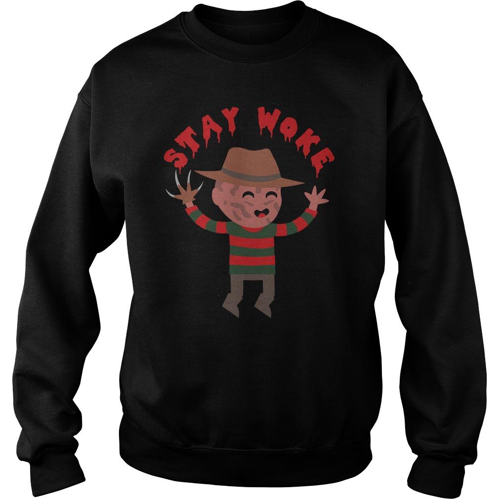 Stay Woke Halloween Sweatshirt