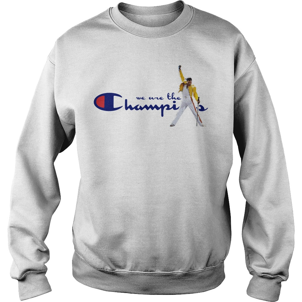 bceb3b6976a5 We are the Champions Freddie Mercury Shirt, Youth, Hoodie and Sweater