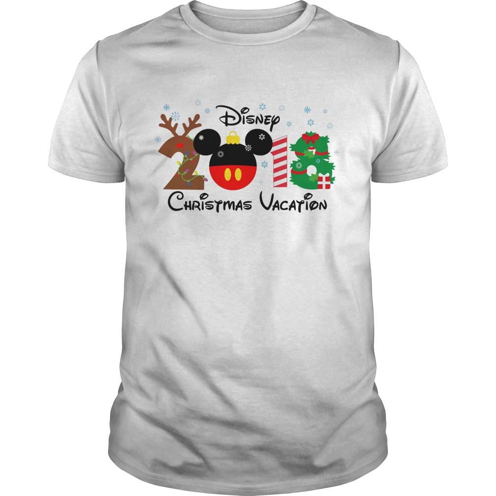 Disney Christmas Vacation 2018 Guys Shirt