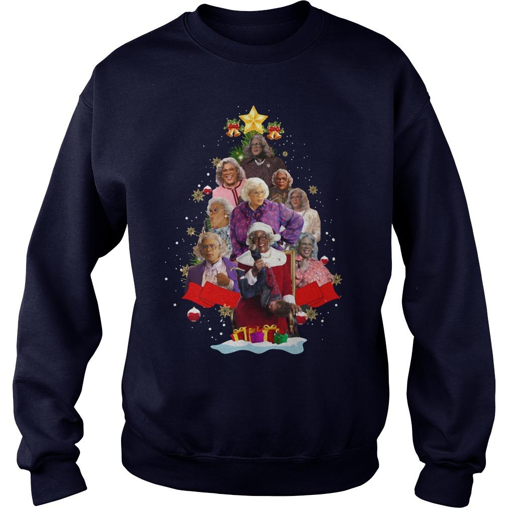 Madea Christmas Tree Sweat Shirt