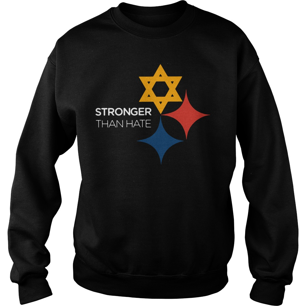 Pittsburgh Stronger Than Hate Sweater