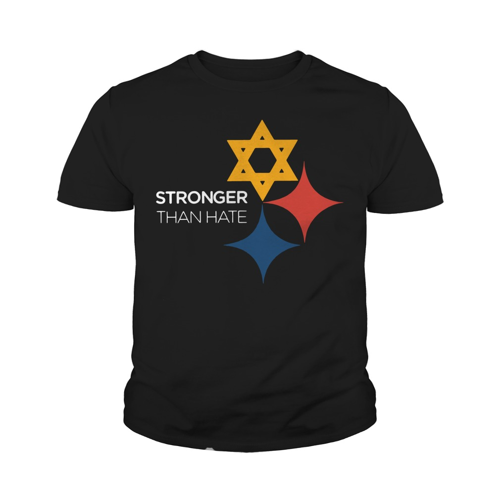 Pittsburgh Stronger Than Hate Youth Shirt