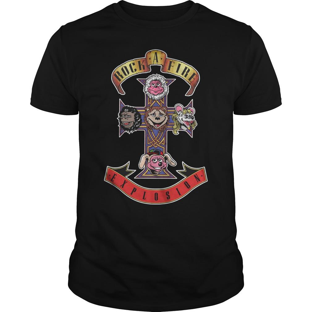 Appetite Rock Afire Explosion Unisex Shirt