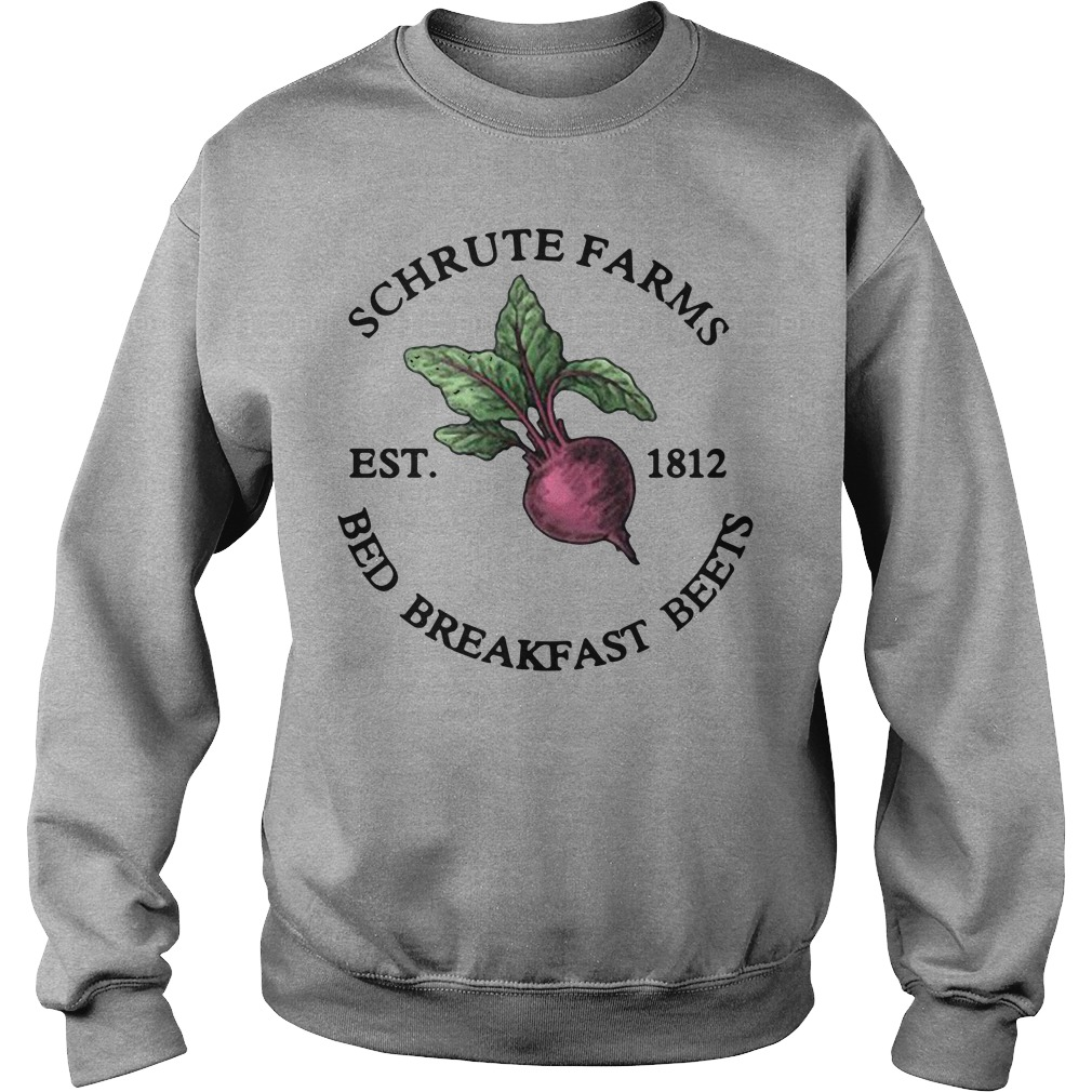 Schrute Farms Est 1812 Bed Breakfast Beets Sweater