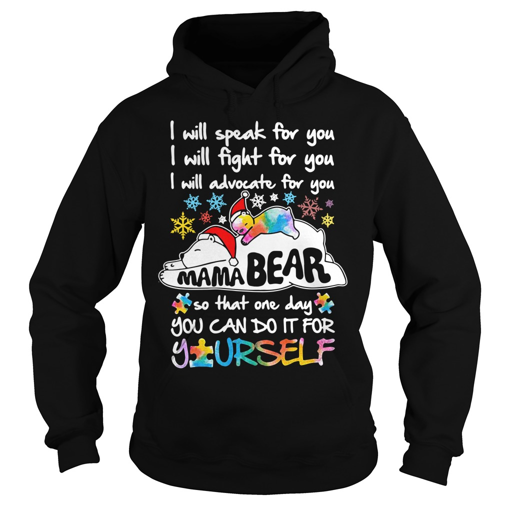 I Will Speak For You I Will Fight For You I Will Speak For You I Will Advocate For You Hoodie