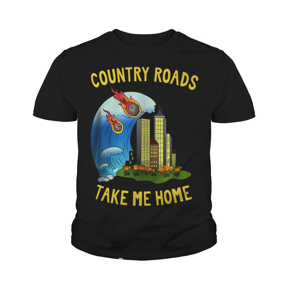 The Country Roads Take Me Home Youth Shirt