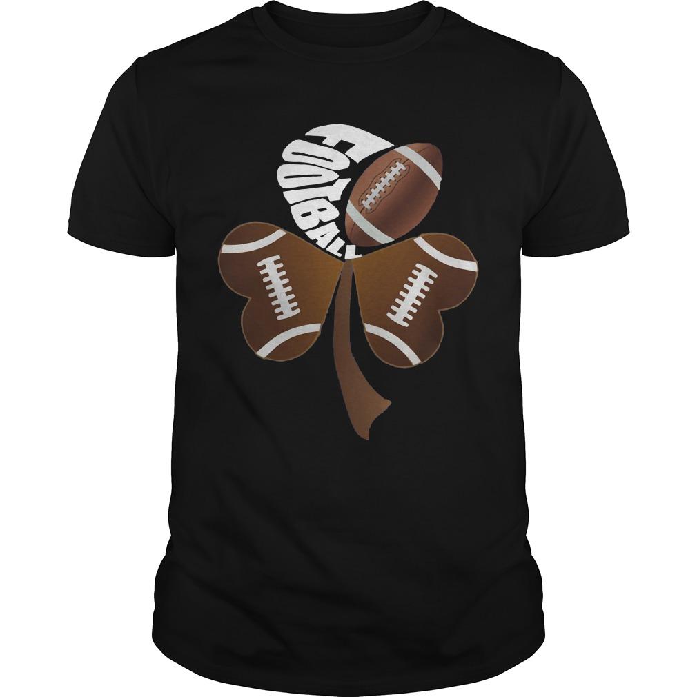 Football Shamrock Heart Shirt