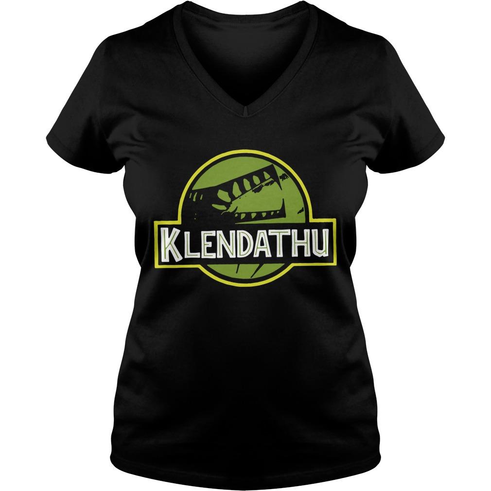 Official Klendathu Unisex Ladies v neck