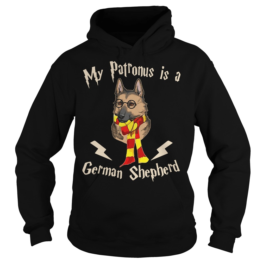 My Patronus Is A German Shepherd Harry Potter Hoodie