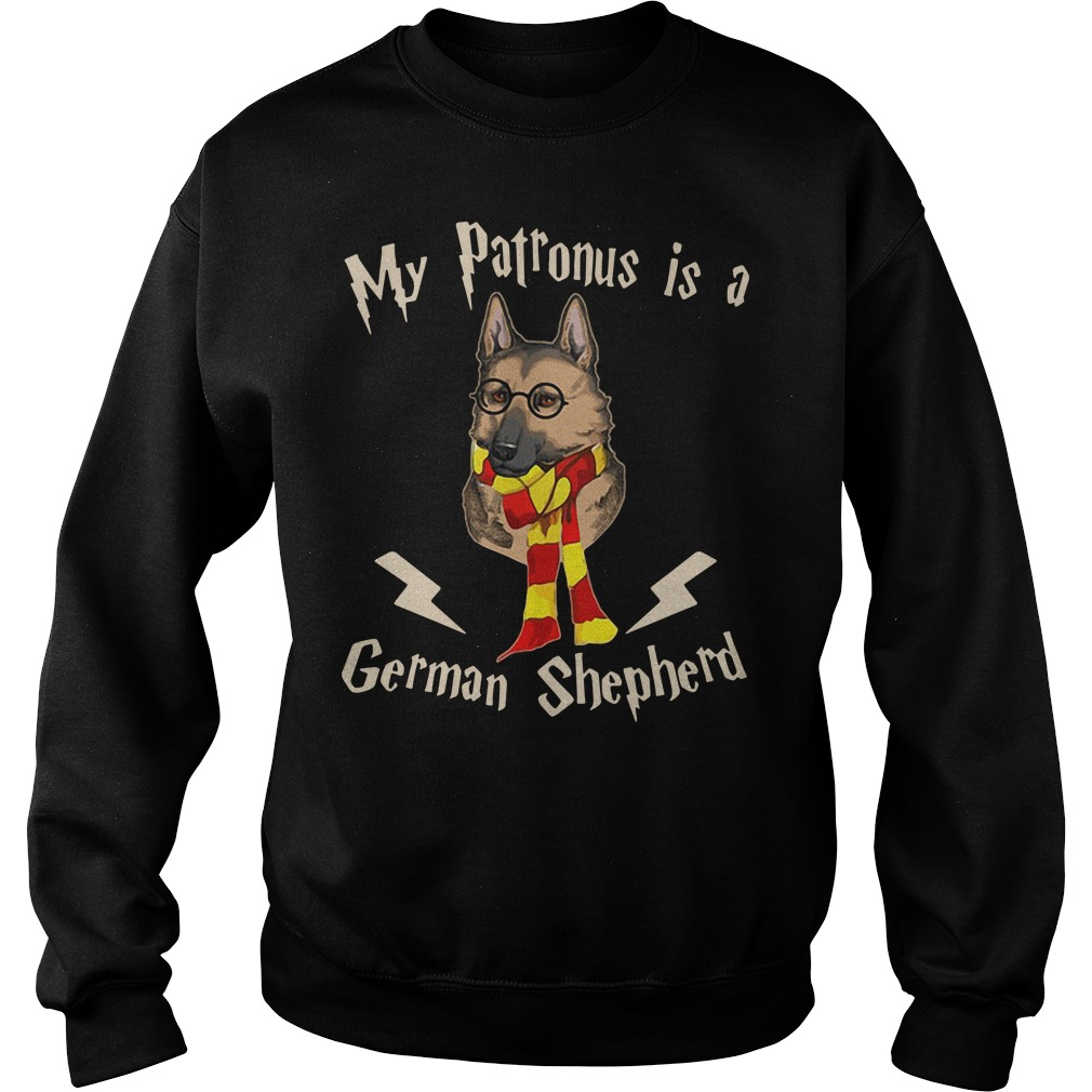 My Patronus Is A German Shepherd Harry Potter Sweater