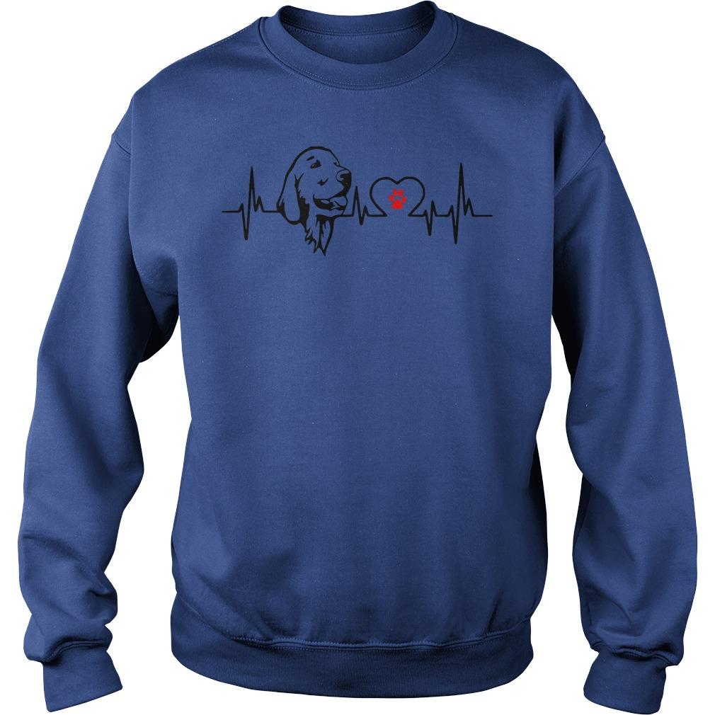 Cool Dog Heartbeat Sweat Shirt